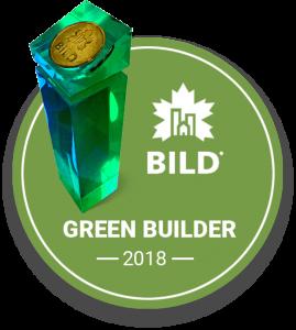 Green builder - Logo