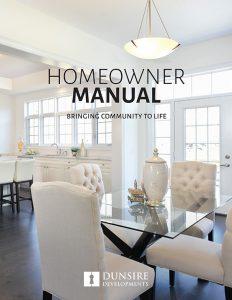 Homeowner Manual - Dunsire