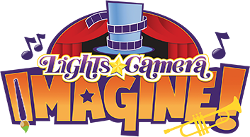 Lights, Camera, Imagine - Logo
